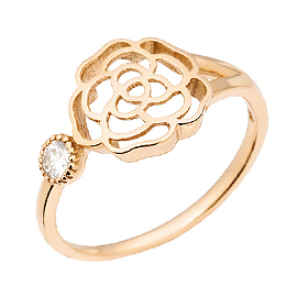 14K / 18K One ring rose