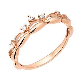14K / 18K Lovely Queen ring