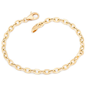 14k / 18k simple string medium bracelet