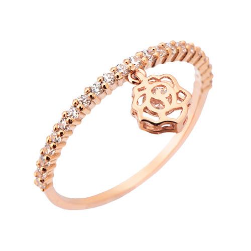 14K / 18K rose fragrance ring