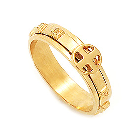 14K / 18K R294 Rotating Rosary Ring