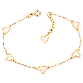 14k / 18k love full bracelet
