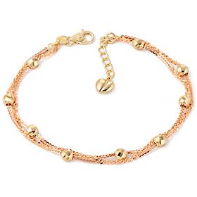 14k / 18k Violets two lines bracelet