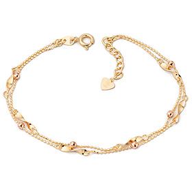 14k / 18k amaranth two lines bracelet