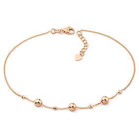 14k / 18k Tania Beads anklet