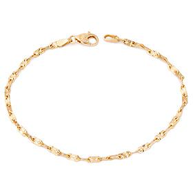 14k / 18k seek line bracelet
