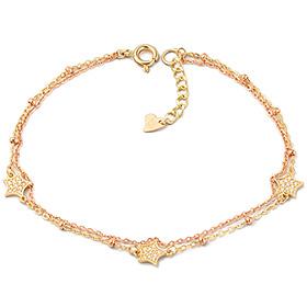 14k / 18k dream two lines bracelet