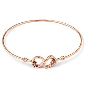 14K / 18K Rachel Bangle Bracelet