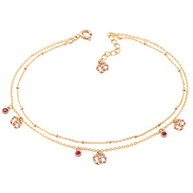14k / 18k Loco Young anklet [overnightdelivery]
