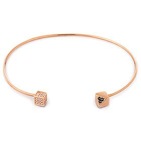 14K / 18K Roman Holiday Bangle Bracelet