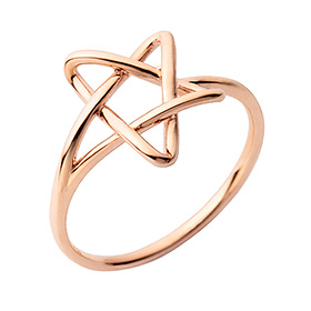 14K / 18K Pure Star ring