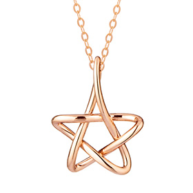 14K / 18K Pure Star Necklace [overnightdelivery]