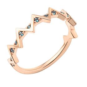 14K / 18K modern angle ring