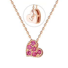 14K / 18K Strawberry tart Necklace (overnightdelivery)