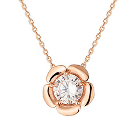 14K Flower Necklace
