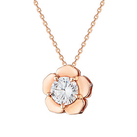 14K Love Flower Necklace