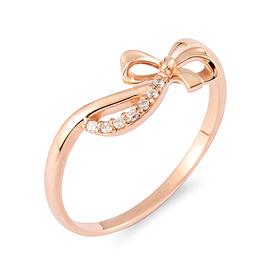 14K / 18K cutie ribbon ring
