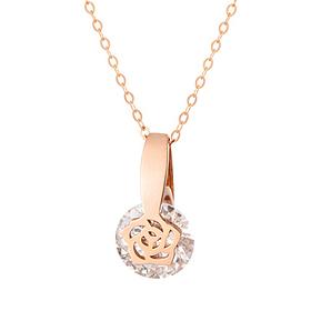 14k / 18k Sun Rose Necklace