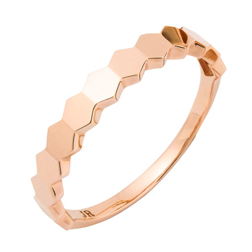 14K / 18K Hexagon ring