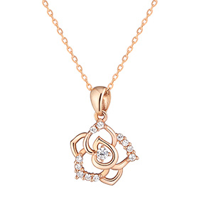 14k / 18k Royal Rose Necklace