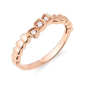 14K / 18K shining ribbon ring