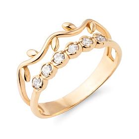 14K / 18K rosette ring