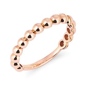 14K / 18K Circle ring ring