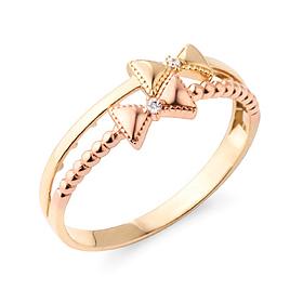 14K / 18K Ribbon thumb ring