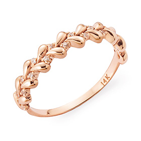 14K / 18K twist water ring