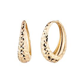 14k / 18k ring marbles (large) earring