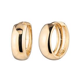 14k / 18k donut (medium) earring