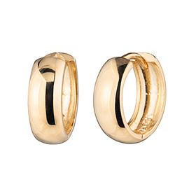 14k / 18k donuts (small) earring