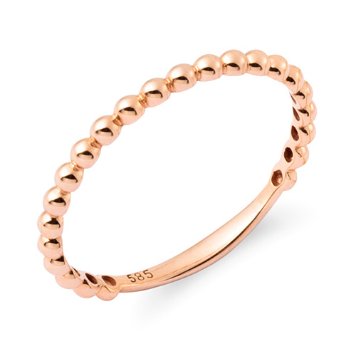 14K / 18K bubble ring
