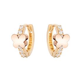 14K / 18K Cute Butterfly Earring