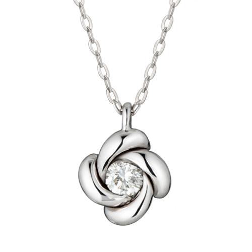 "<b><font color=""b400b0"" >[Part 1 Contemporary Emotion]</font></b> <br> 14K / 18K Winter Night Part 1 Diamond Necklace"