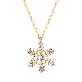 14K / 18K Snow Flower Necklace