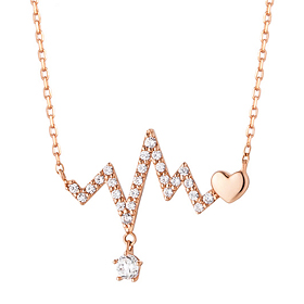 14K / 18K Love Beat Necklace