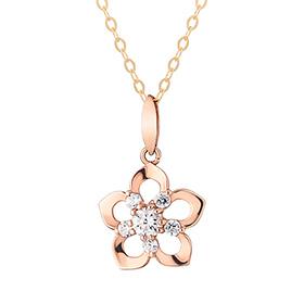 18K Rosemary Necklace