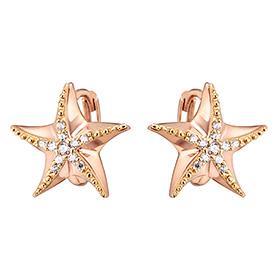 14K / 18K STARIA One Touch Earrings