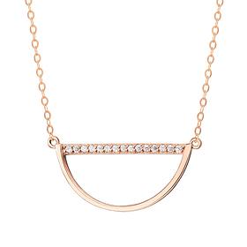 14K / 18K Half Moon Necklace