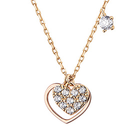 14K / 18K Love in Love Necklace