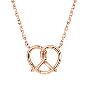 14K / 18K Pretzel Necklace