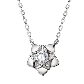"<b><font color=""b400b0"" >[Part 1 Contemporary Emotion]</font></b> <br> 14K / 18K Star Hen Night Part 1 Diamond Necklace"