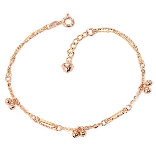 14k / 18k mini bell bracelet