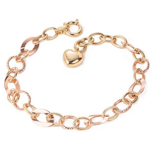 14k / 18k tweed bracelet