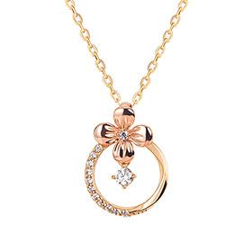 14K / 18K Flower Bell Necklace