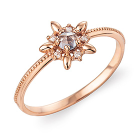 14K / 18K Etoile A All Light ring