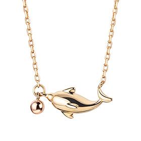 14K / 18K Dolphin Necklace