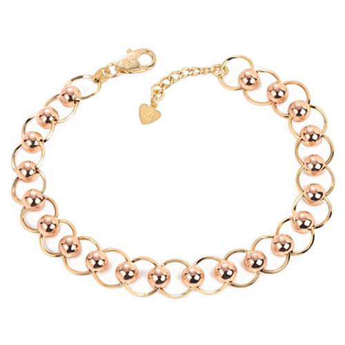 14k / 18k volume bubble bracelet