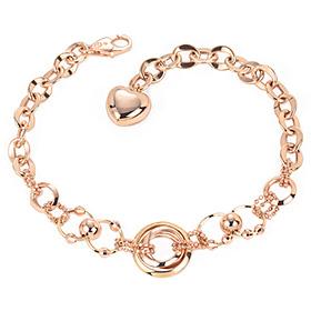 14k Big Circle bracelet